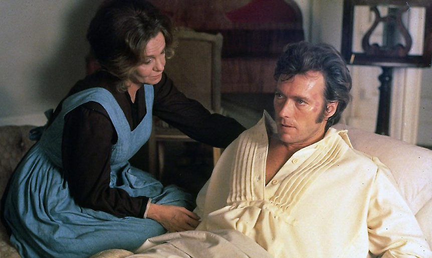 """Movie still from 1971's """"The Beguiled."""""""
