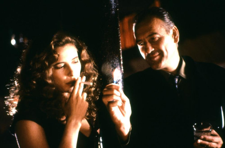 """Mimi Rogers and Patrick Bauchau in 1991's """"The Rapture."""""""
