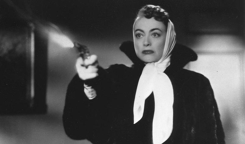 """Movie still from 1952's """"Sudden Fear."""""""