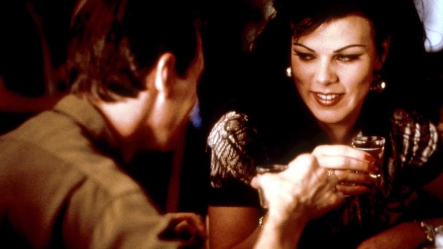 "Steve Buscemi and Debi Mazar in 1996's ""Trees Lounge."""