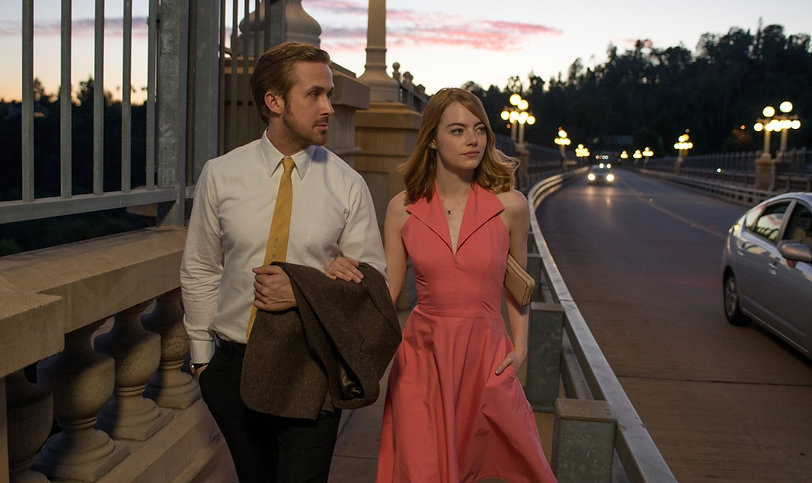 "Movie still from 2016's ""La La Land."""