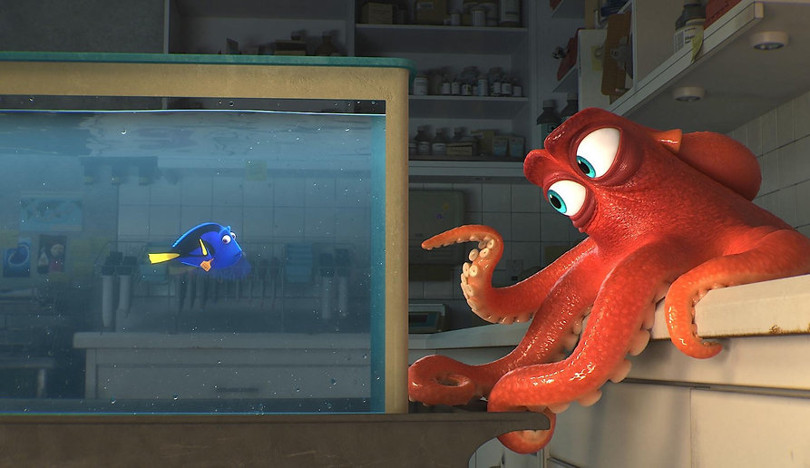 """Movie still from 2016's """"Finding Dory."""""""