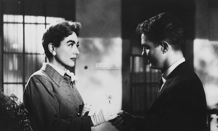 "Still from 1956's ""Autumn Leaves."""
