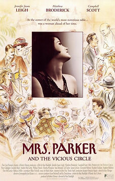 """Movie poster for 1994's """"Mrs. Parker and the Vicious Circle."""""""