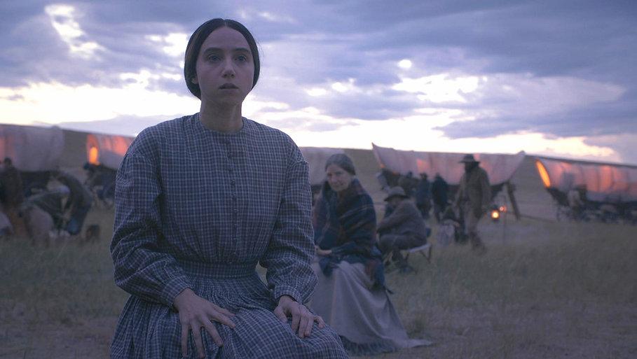 "Zoe Kazan in 2018's ""The Ballad of Buster Scruggs."""