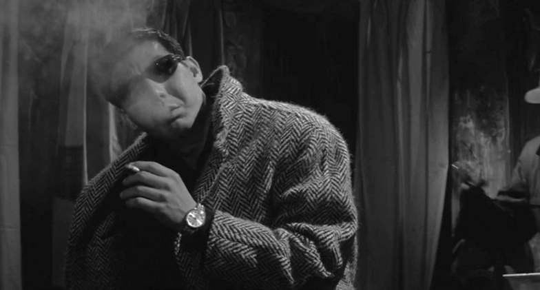 "Movie poster for 1964's ""Cruel Gun Story."""
