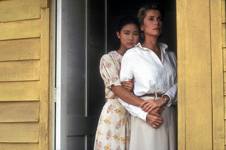 """Movie still from 1992's """"Indochine."""""""