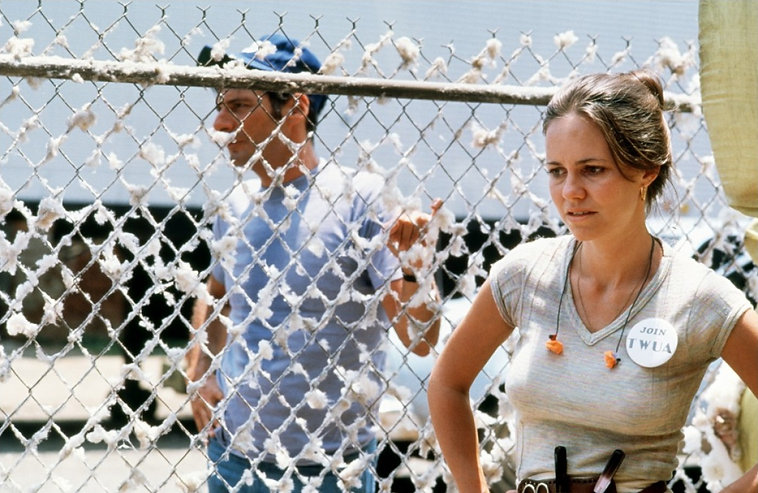 """Ron Leibman and Sally Field in 1979's """"Norma Rae."""""""