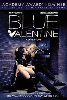"Movie poster for 2010's ""Blue Valentine."""