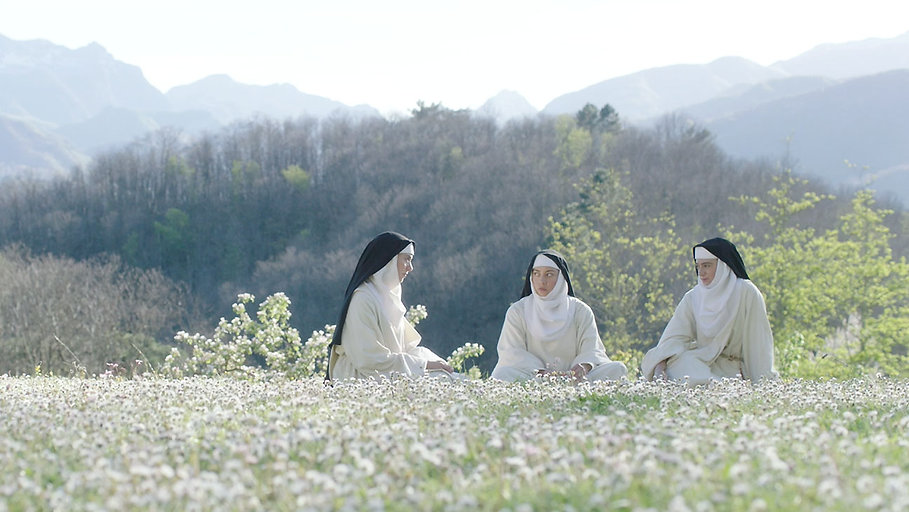 """Still from 2017's """"The Little Hours."""""""