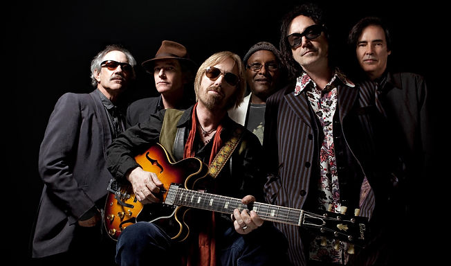 Tom Petty and the Heartbreakers in a publicity still.