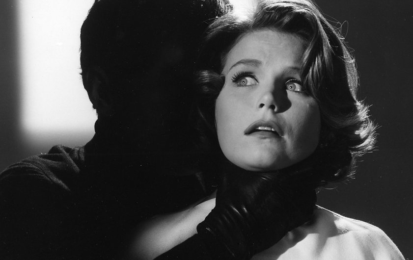 "Lee Remick in 1962's ""Experiment in Terror."""