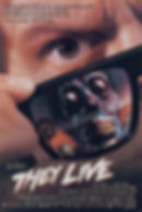 "Movie poster for 1988's ""They Live."""