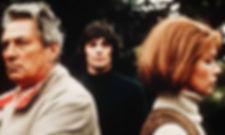 "Peter Finch, Murray Head, and Glenda Jackson in 1971's ""Sunday Bloody Sunday."""