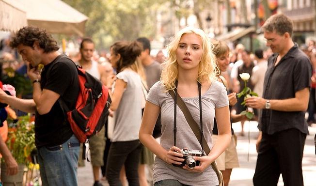 "Scarlett Johansson in 2008's ""Vicky Cristina Barcelona."""