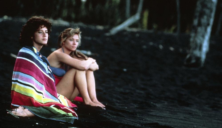 """Debra Winger and Theresa Russell in 1987's """"Black Widow."""""""