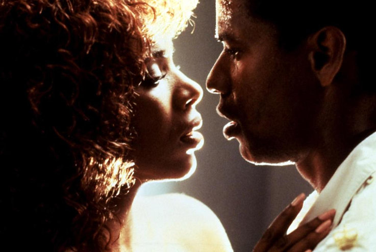 """Sheryl Lee Ralph and Denzel Washington in 1989's """"The Mighty Quinn."""""""