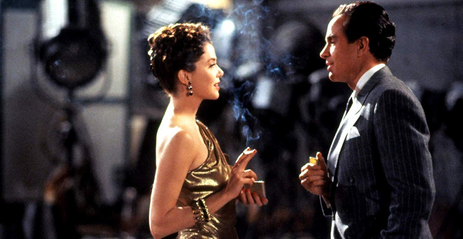 """Annette Bening and Warren Beatty in 1991's """"Bugsy."""""""