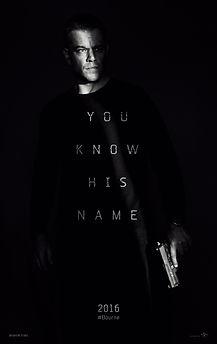 "Movie poster for 2016's ""Jason Bourne."""
