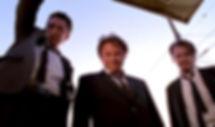 "Michael Madsen, Harvey Keitel, and Steve Buscemi in 1992's ""Reservoir Dogs."""