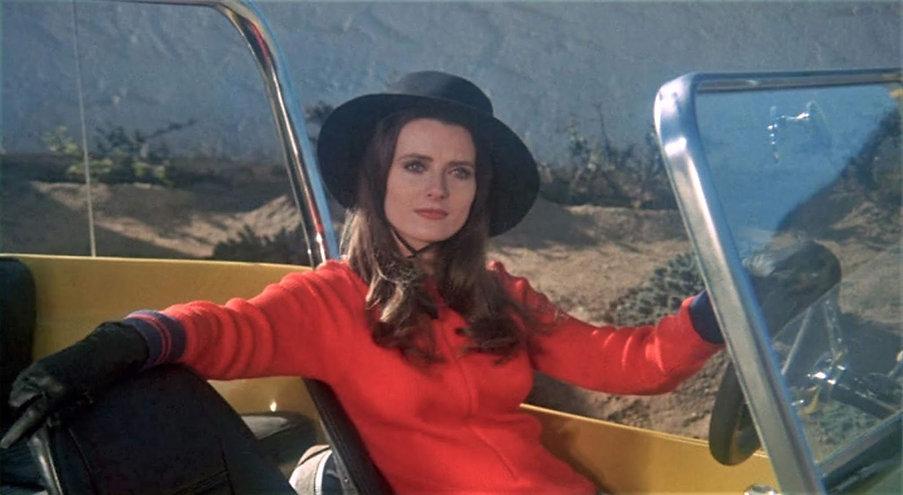 """Celeste Yarnall in 1971's """"The Velvet Vampire."""""""