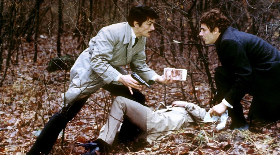 """Still from 1970's """"Le Cercle Rouge."""""""