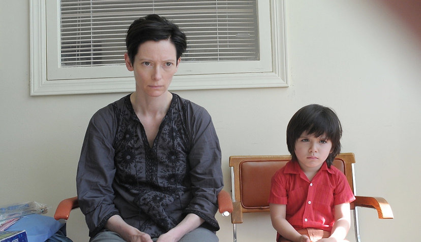 "Tilda Swinton and Rocky Duer in 2011's ""We Need to Talk About Kevin."""