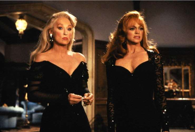 """Meryl Streep and Goldie Hawn in 1992's """"Death Becomes Her."""""""