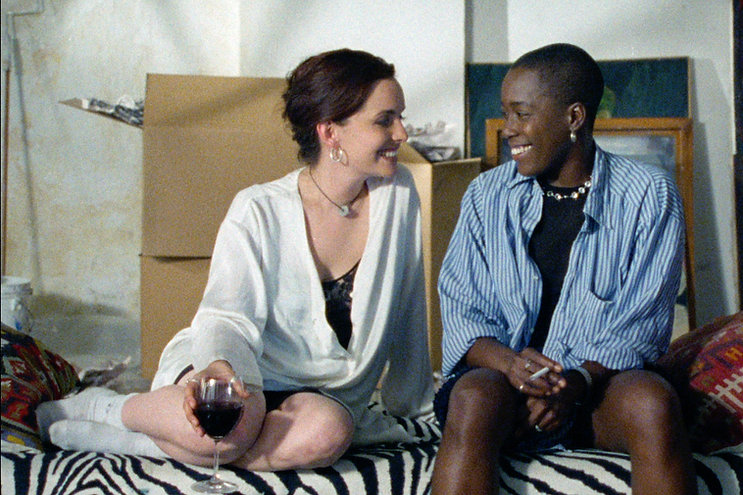 """Guinevere Turner and Cheryl Dunye in 1996's """"The Watermelon Woman."""""""