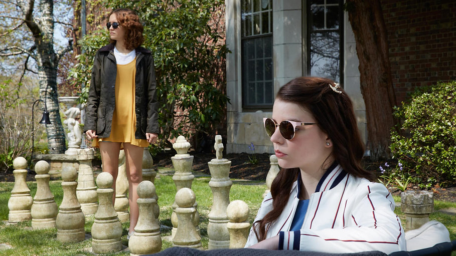 """Olivia Cooke and Anya Taylor-Joy in 2018's """"Thoroughbreds."""""""