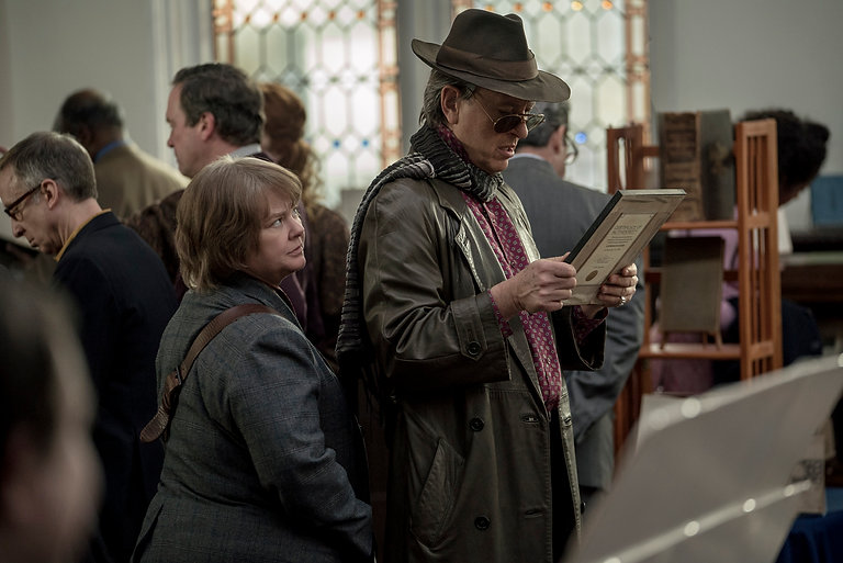 "Melissa McCarthy and Richard E. Grant in 2018's ""Can You Ever Forgive Me?."""