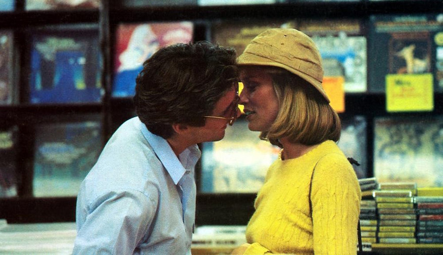 """Richard Gere and Lauren Hutton in 1980's """"American Gigolo."""""""