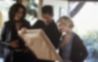 "Jennifer Beals, Alan Cumming, and Jennifer Jason Leigh in 2001's ""The Anniversary Party."""