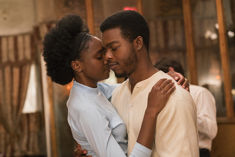 """KiKi Layne and Stephan James in 2018's """"If Beale Street Could Talk."""""""