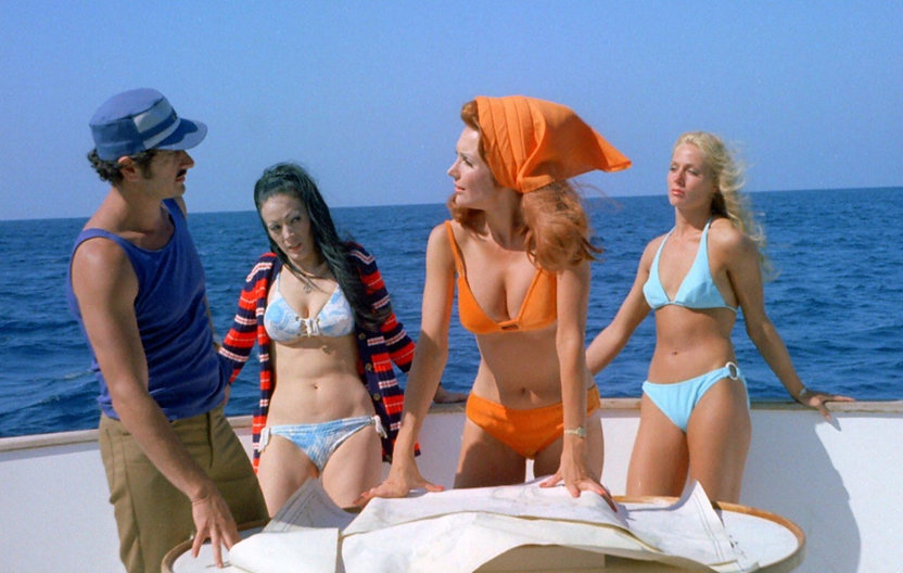 """Movie still from 1973's """"The Doll Squad."""""""
