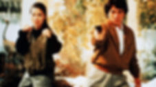 """Michelle Yeoh and Jackie Chan in 1992's """"Police Story 3: Super Cop."""""""