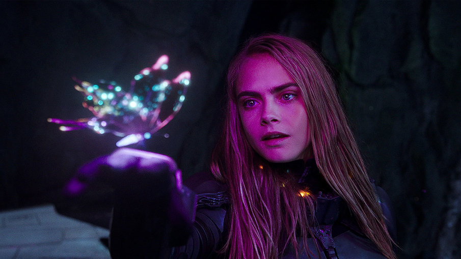 """Still from 2017's """"Valerian and the City of a Thousand Planets."""""""