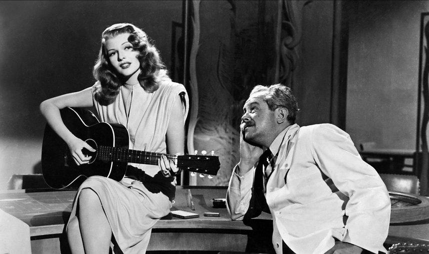 """Movie still from 1946's """"Gilda."""""""