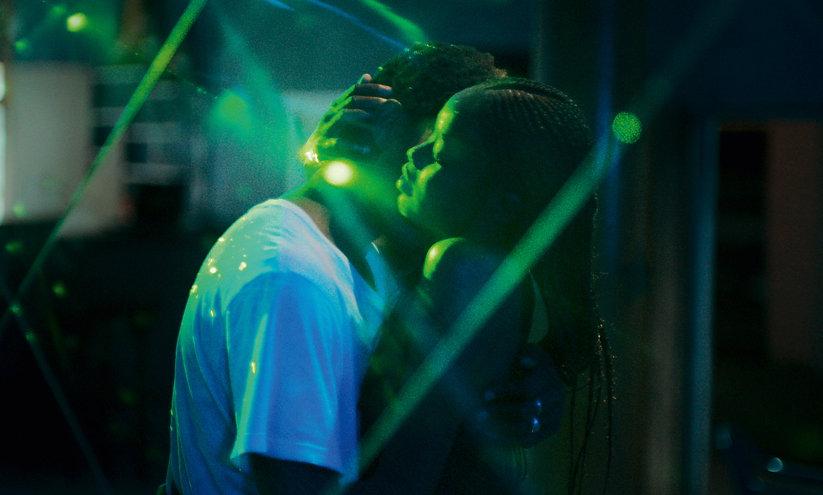 "Mama Sané and Ibrahima Traoré in ""Atlantics."""