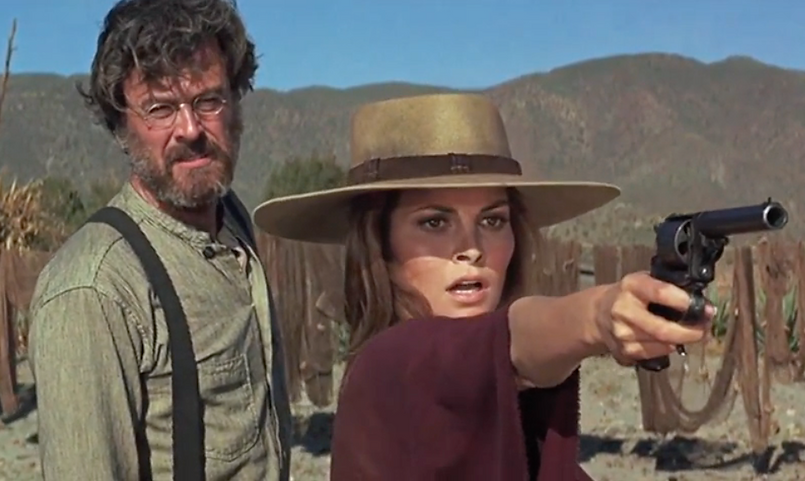 "Movie still from 1971's ""Hannie Caulder."""