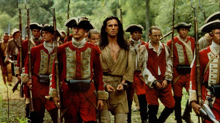 """From 1992's """"The Last of the Mohicans."""""""