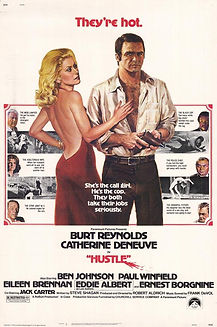 "Movie poster for 1975's ""Hustle."""