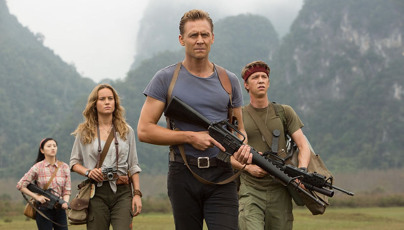 """Movie still from 2017's """"Kong: Skull Island."""""""
