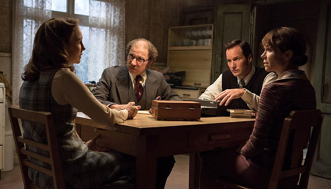 "Movie still from 2016's ""The Conjuring 2."""