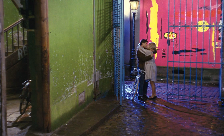 """Screenshot from 1964's """"The Umbrellas of Cherbourg."""""""