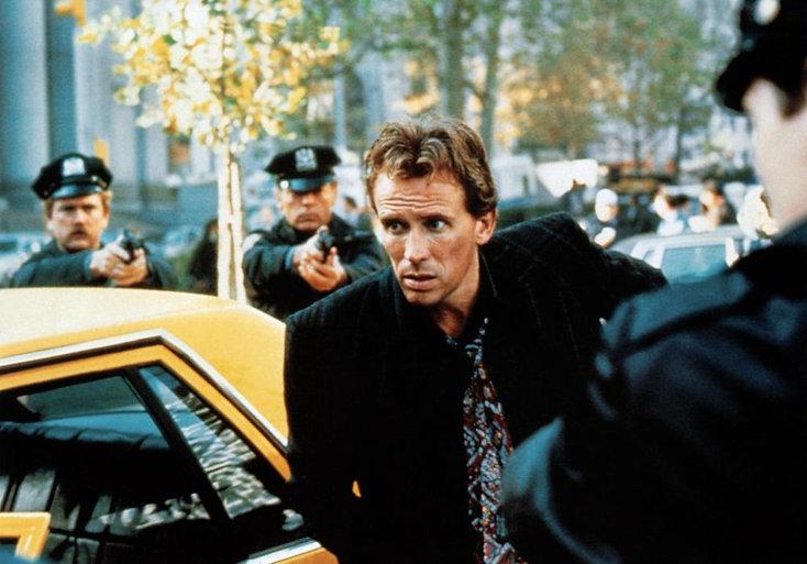 """Peter Weller in 1988's """"Shakedown."""""""