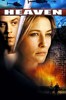 """Movie poster of 2002's """"Heaven."""""""