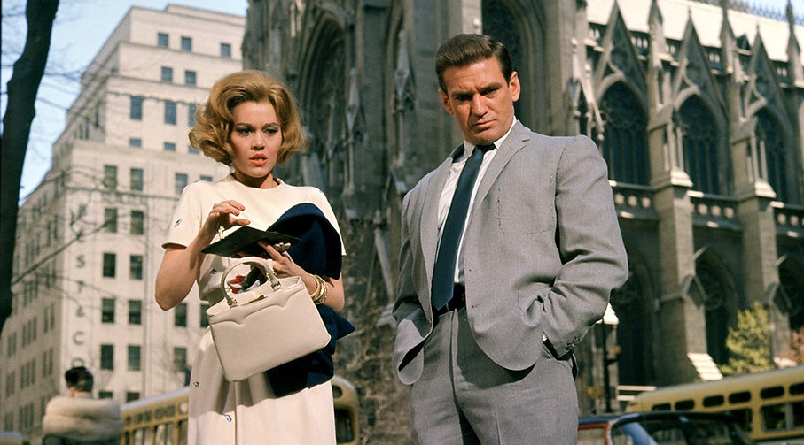 "Still from 1963's ""Sunday in New York."""