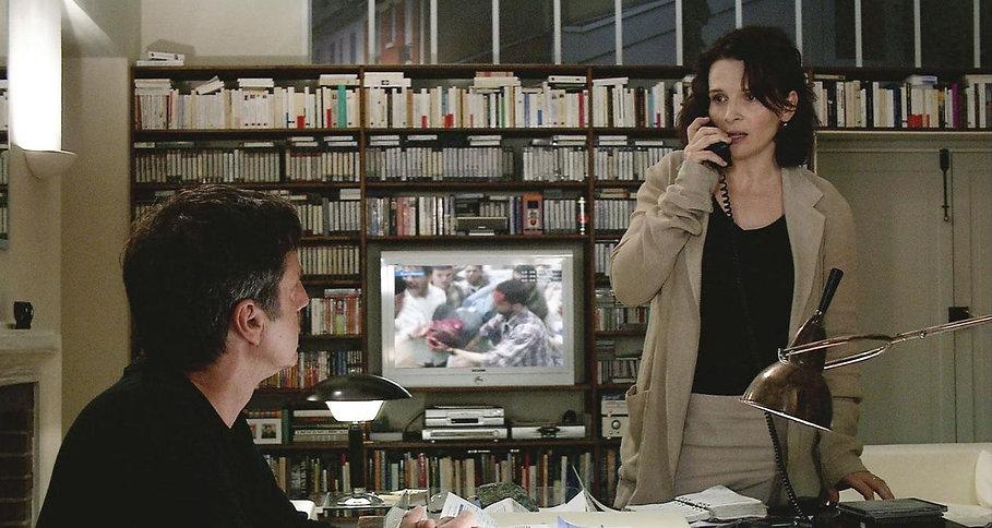 "Juliette Binoche and Daniel Auteuil in 2005's ""Caché."""