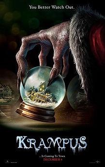 "Movie poster for 2015's ""Krampus."""